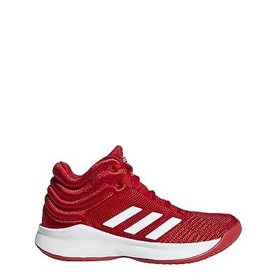 Amazon Com Adidas Unisex Pro Spark 2018 Basketball Shoe Scarlet