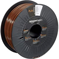 AmazonBasics PLA 3D Printer Filament, 1.75mm, Bruin, 1 kg Spoel