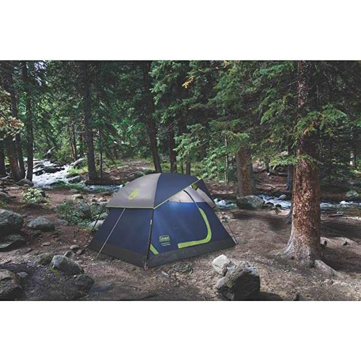 Sundome 2 Person Tent - Green and Navy color