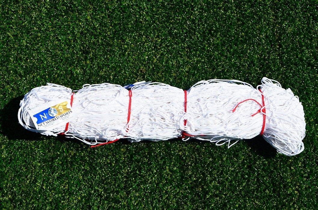 Junior Size Soccer Goal Net - 8x6 / 8' x 6' **HEAVY DUTY** (Choice Of Single Or Pair) (3. Heavy Duty Grade 8 x 6 Net (single)) by Net World Sports