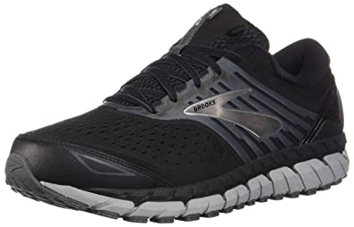 4c64c5d7082 Brooks Men s Beast  18 Black Grey Silver ...