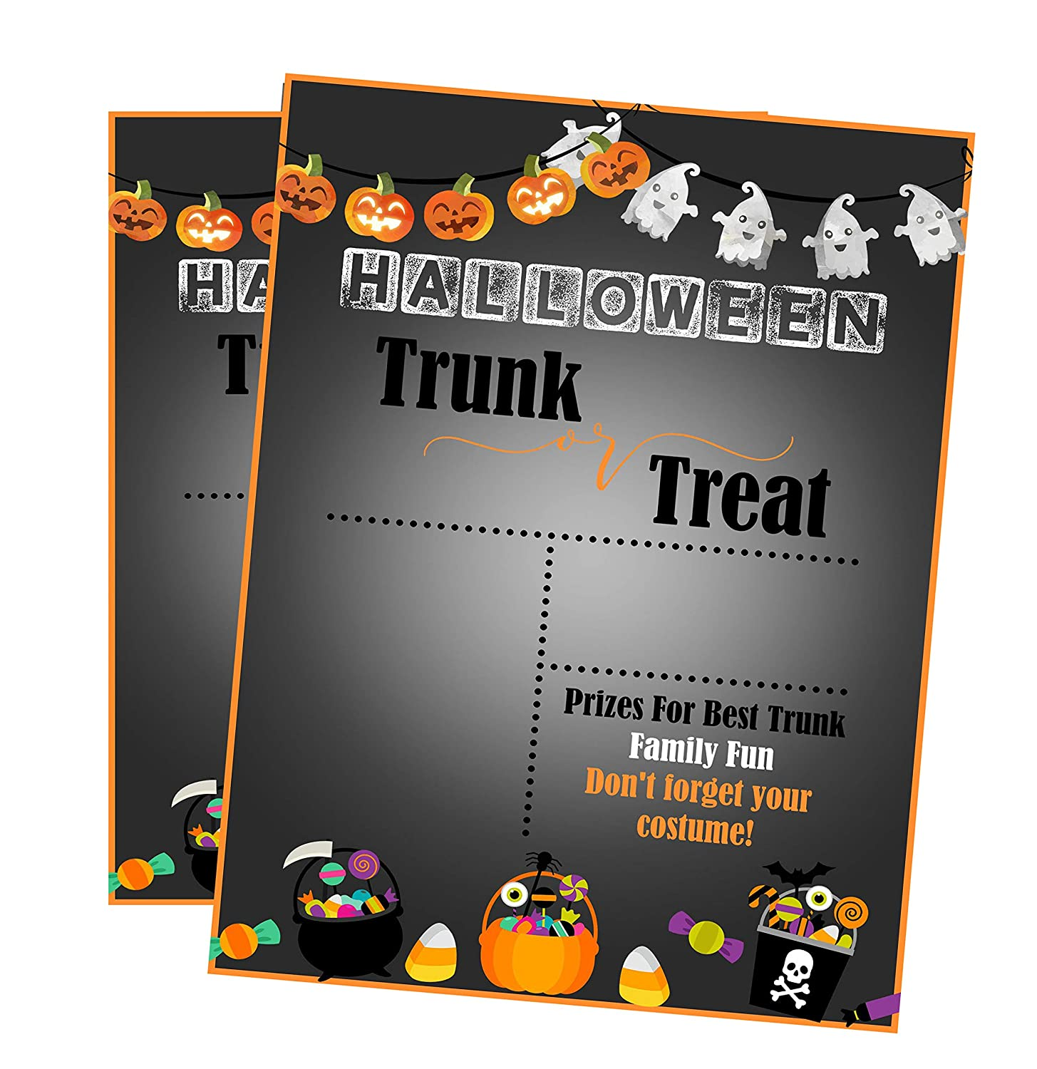 Amazon.com: Silly Goose Gifts Halloween Trunk Or Treat ~ Trick Or ...