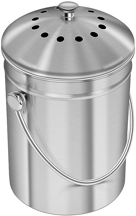 amazon com utopia kitchen premium quality stainless steel compost