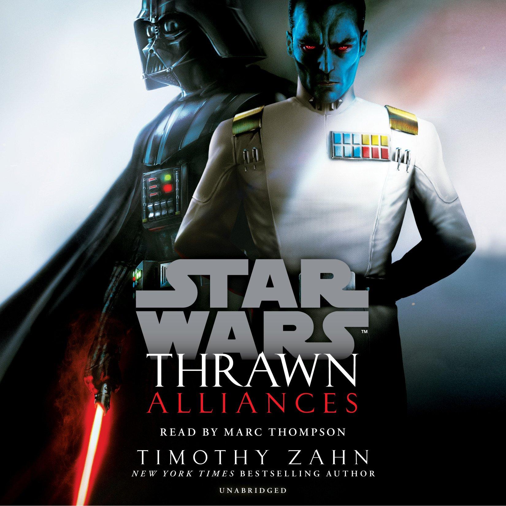 book audio thrawn unabridged trilogy