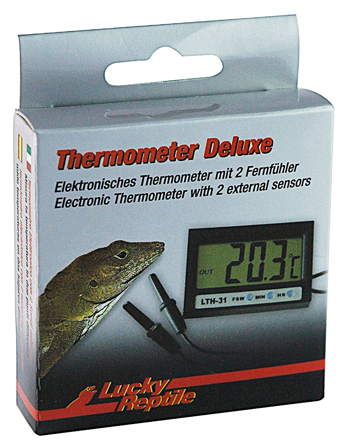 (2 Pack) Lucky Reptile - Thermometer Deluxe LTH-31
