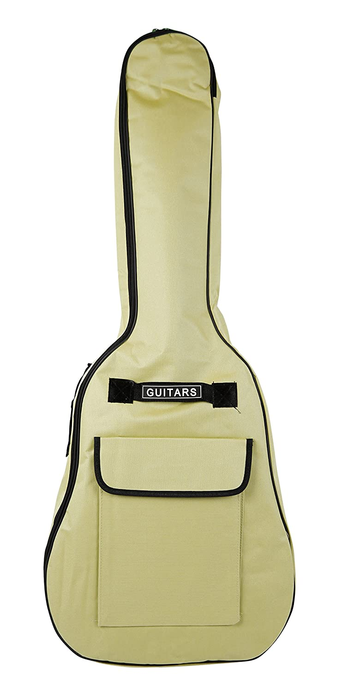 Cubierta de la guitarra de tamaño completo Bray relámpago azul camuflaje funda acolchada GIGBAG para cualquier acústica, eléctrica, bajo y guitarra clásica con asa de transporte y las correas de hombro (41) Bray Music