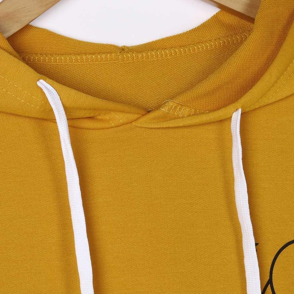 Mikey Store Womens Hoodie Jumper Pullover Sweatshirt Tops Blouse