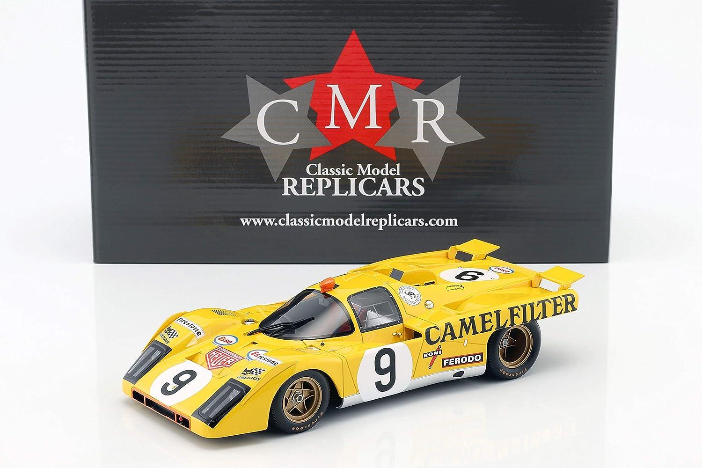 CMR Ferrari 512 M  9 24h Lemans 1971 de Fierlant, de Cadenet 1 18