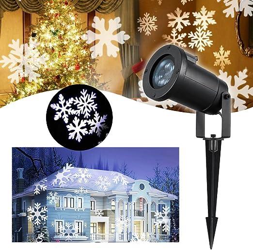 LED Proyector Luces de Navidad – VIDEN Lámpara de Proyector con ...