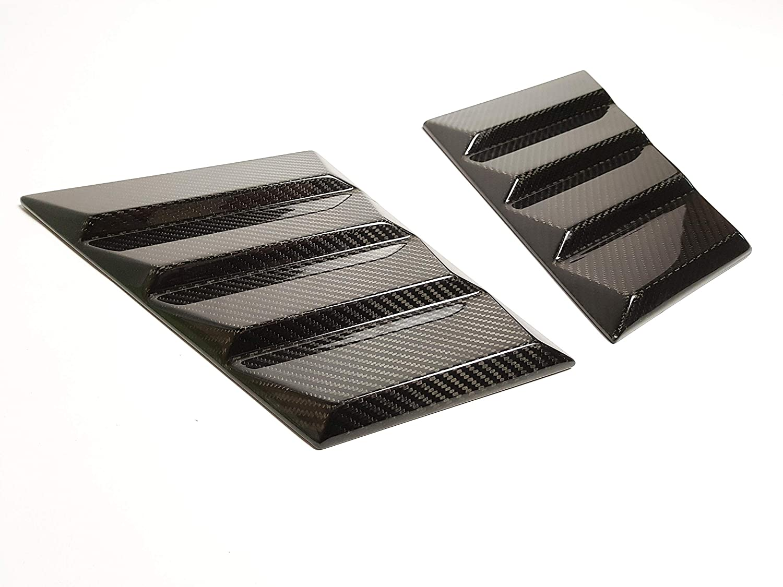 Carbon Fiber Hood Trim Side Covers for Mercedes-Benz G-Class W463 W461 kit-car Brabus Widestar Style