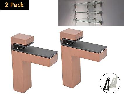 Superb Amazon Com Addgrace 2 Pack Adjustable Glass Shelf Bathroom Download Free Architecture Designs Scobabritishbridgeorg
