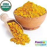 1 LB ORGANIC TUMERIC Root Powder 100% Pure (Curcuma Longa) TURMERIC,