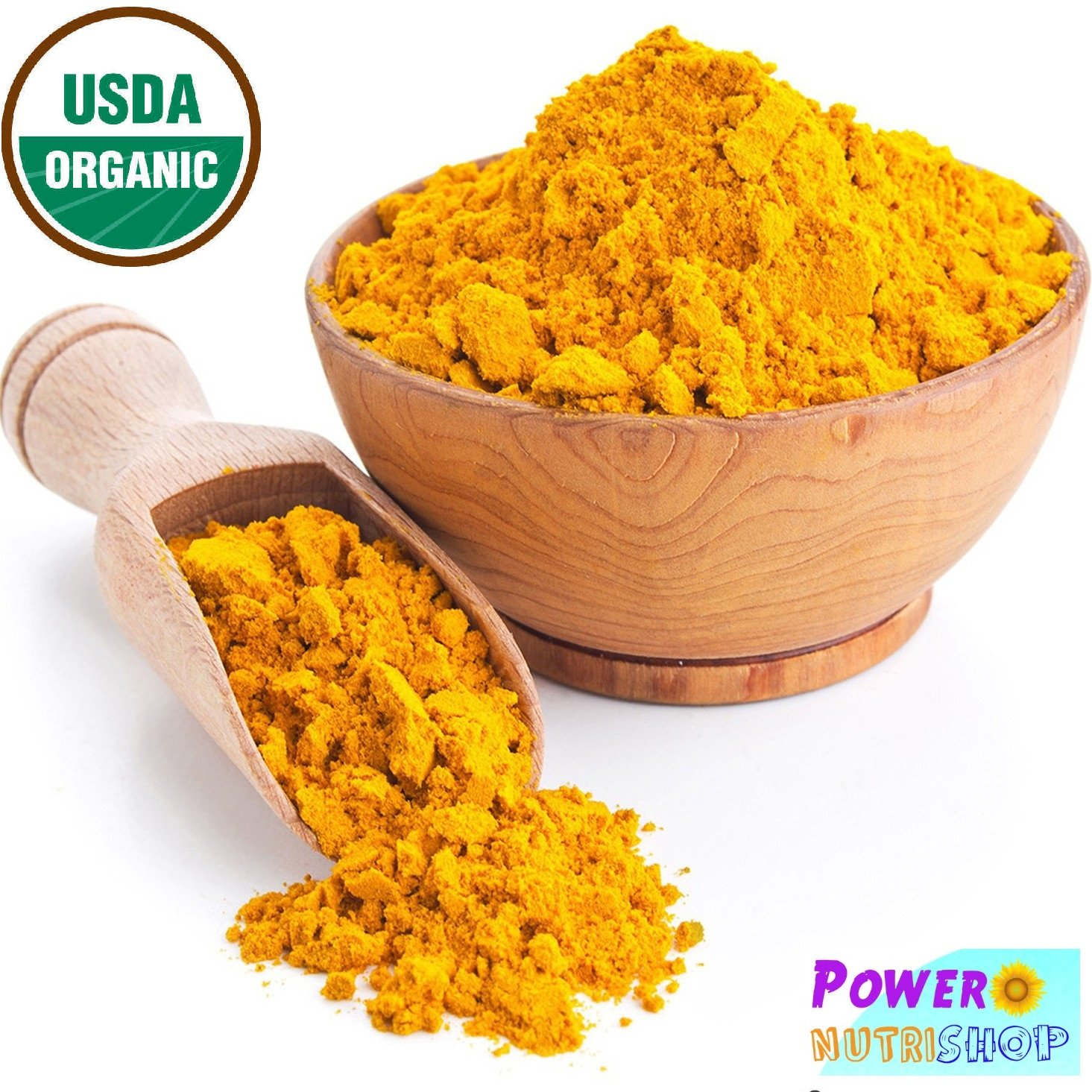 2 pack of 1 LB ORGANIC TUMERIC Root Powder 100% Pure (Curcuma Longa) TURMERIC,