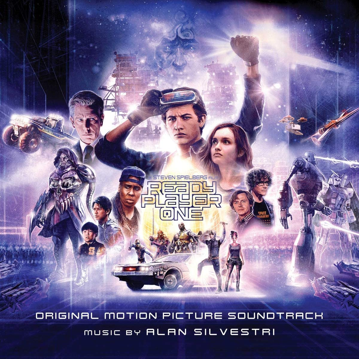 """/""""Ready Player One/"""" ..Steven Spielbergs Classic SciFi Movie Poster Various Sizes"""
