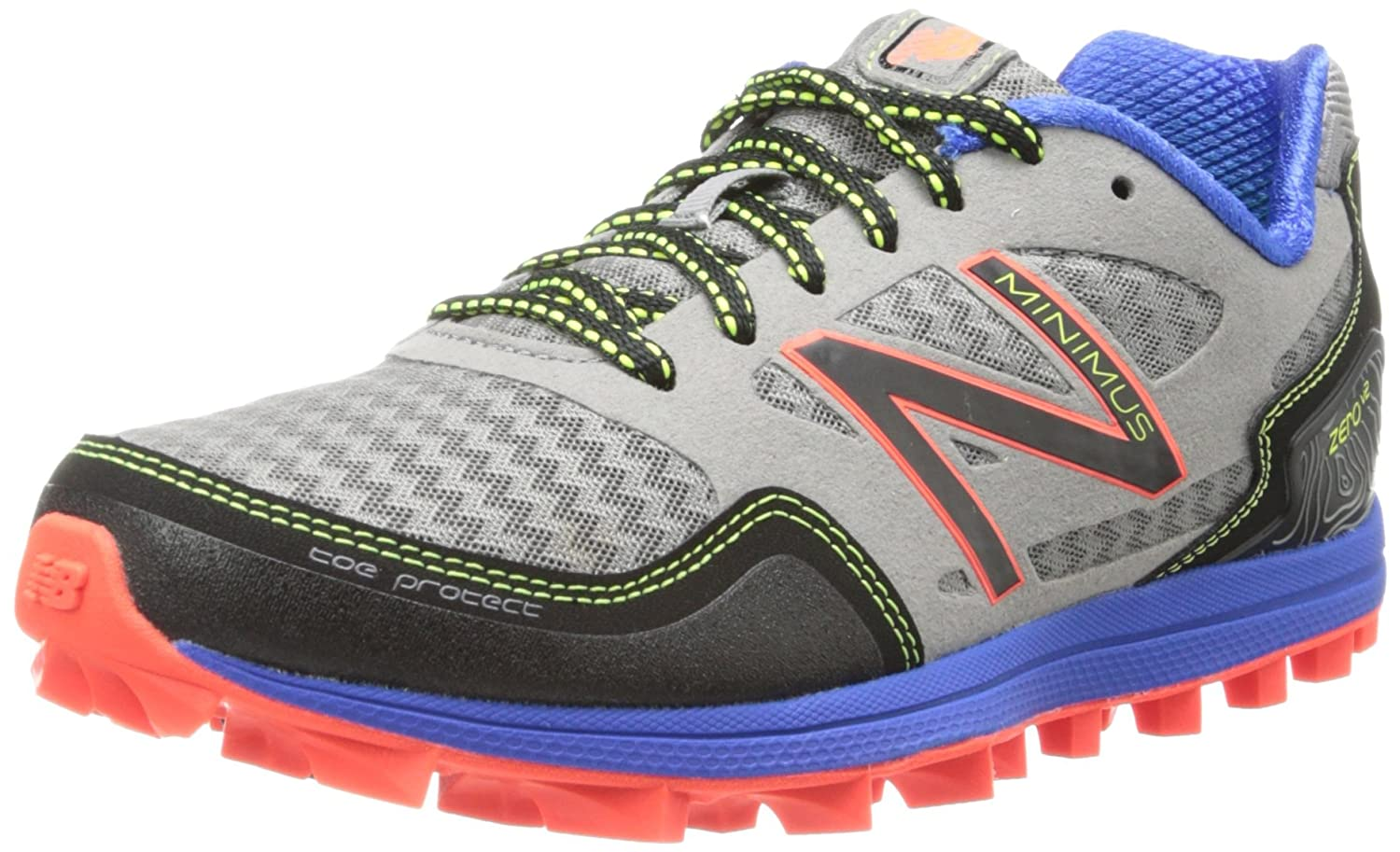 New Balance WT00 Damen Traillaufschuhe Grau (Grey/Blue)