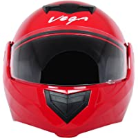 Vega Crux DX Flip-Up Helmet (Red, M)