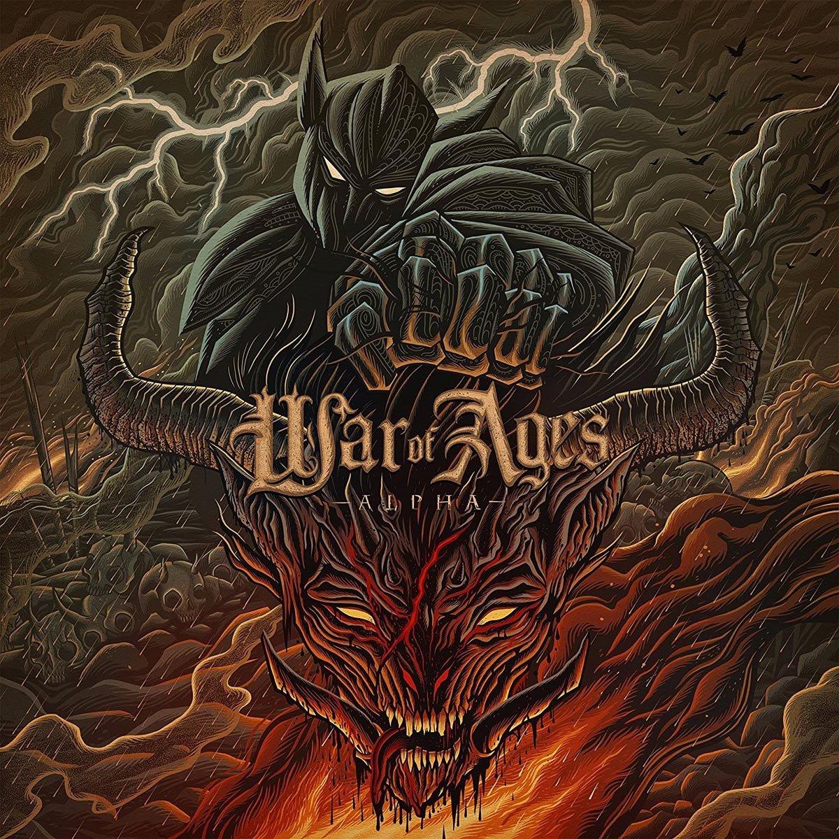 Vinilo : War of Ages - Alpha (LP Vinyl)