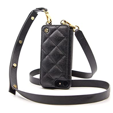 106d965e180 goldno.8 Crossbody Cell Phone Case Leather Wallet with Adjustable Strap  (iPhone 6/7/8)