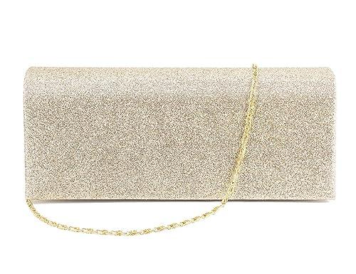 3ac7f84181ac Naimo Shining Elegant Clutch Handbag Evening Bag for Wedding Party Prom