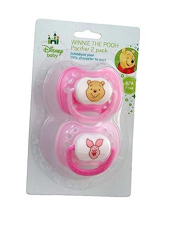 Amazon.com: Disney Baby Winnie the Pooh Baby Chupete 2 Pack ...