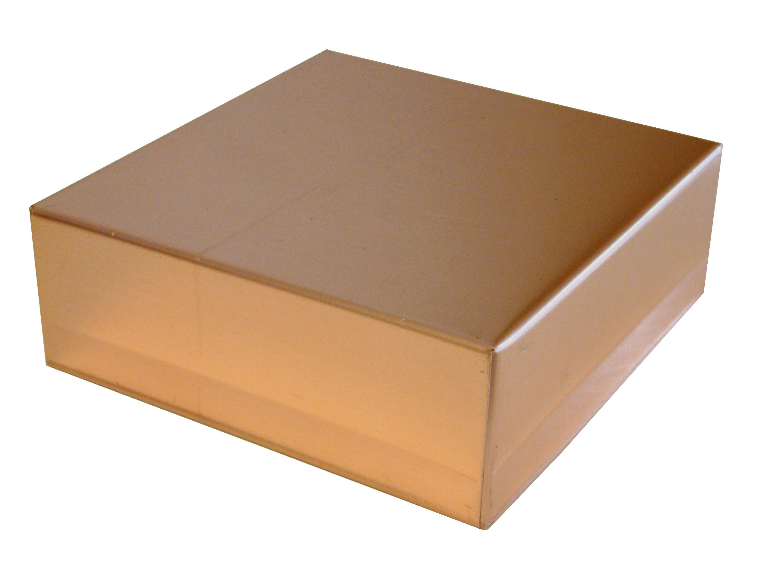3 1/2'' X 3 1/2'' Square Copper Post Cap by Sheet Metal Caps