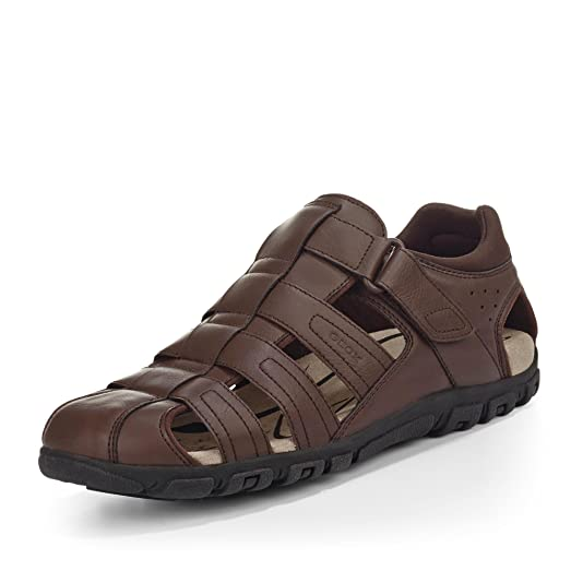 SC Zapatos de Cordones de Material Sintético Para Hombre, Color Marrón, Talla 45 EU