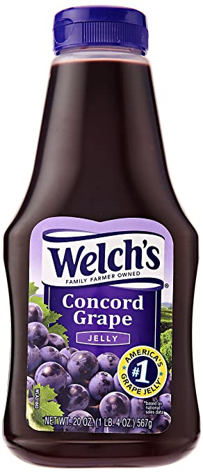 amazon com welch s squeeze grape jelly 20 oz grocery gourmet food