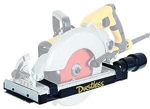 Dustless Technologies D4000 DustBuddie Universal Dust Shroud for Worm Drive Circular Saws