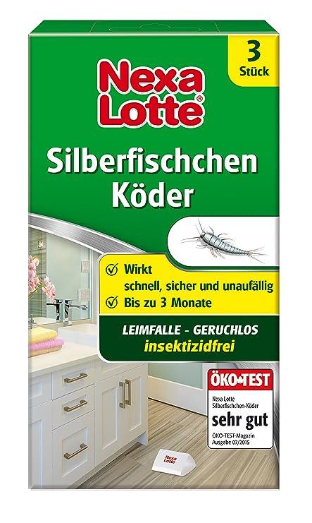 Nexa Lotte Silberfischchen-Köder, Hochwirksame ...