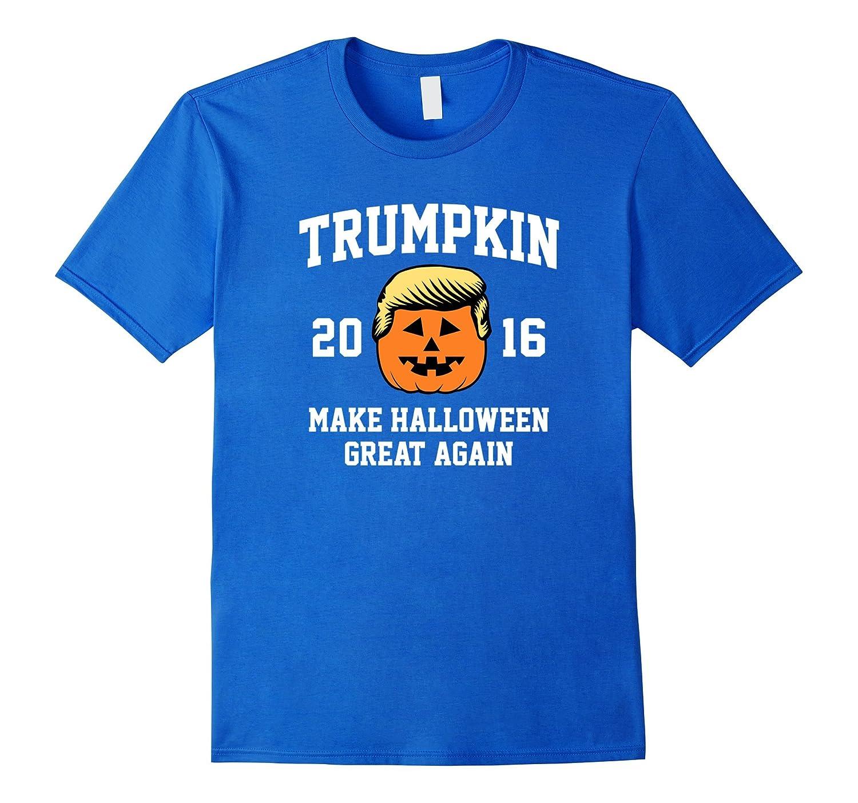 4f459aea7 Trumpkin 2016 Make Halloween Great Again Funny T-Shirt-RT – Rateeshirt