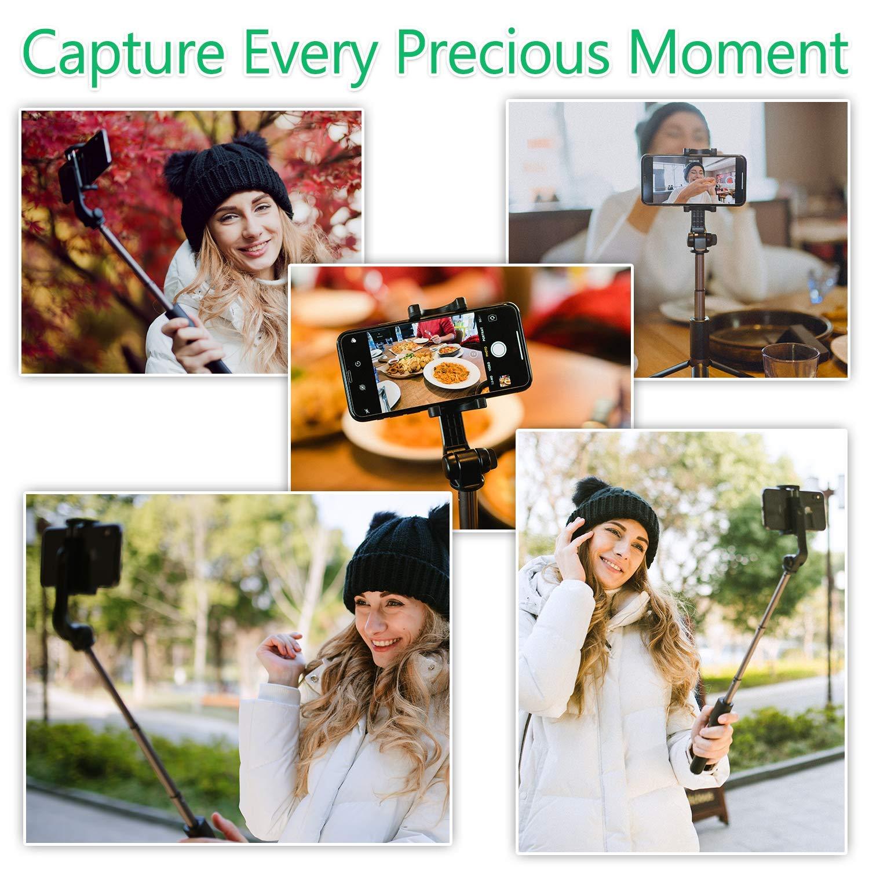 YOKKAO Upgraded Waterproof Selfie Stick Bluetooth Tripod Selfie Stick Extendable for iPhone Xs MAX iPhone 8 iPhone 8 Plus iPhone 7 Plus Galaxy Note S9 Plus S8 S7 S6 Huawei by YOKKAO