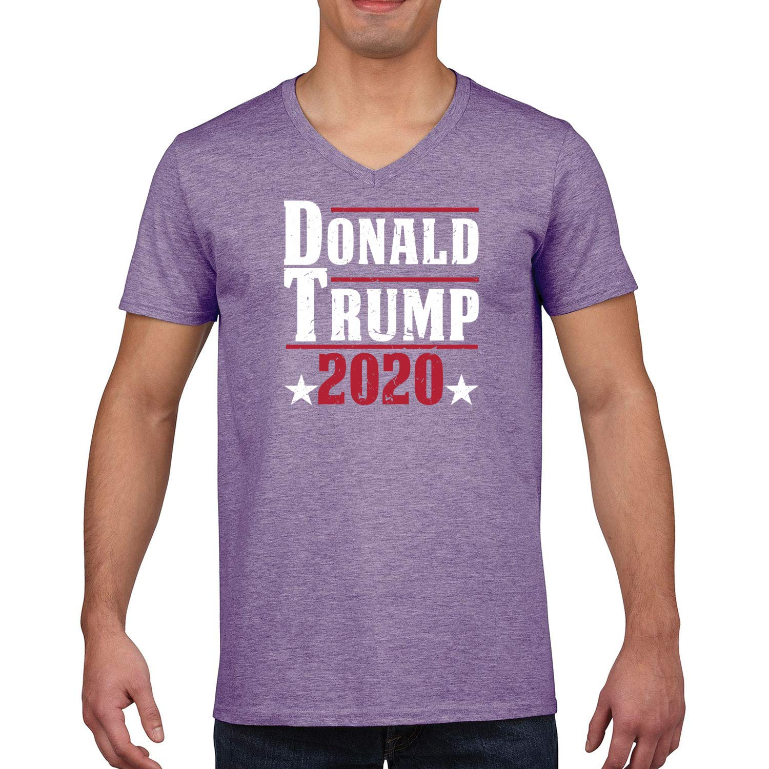 Donald Trump 2020 Us Presidential Elections 2020 S Graphic Vneck Tshirt