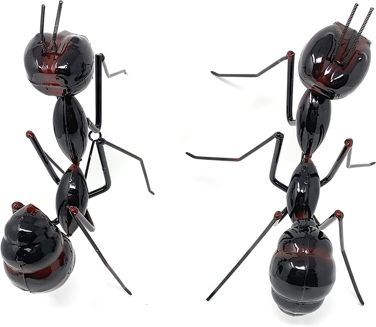 Green Tree Products Jumbo Ant Wall Sculptures, Set of 2, Metal Art