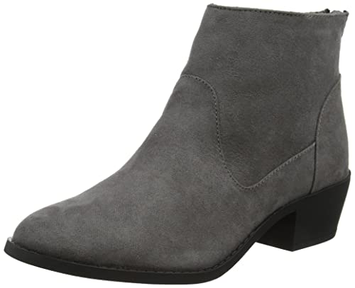 New Look Act Western, Botines para Mujer, Gris (Mid Grey 4), 36 EU: Amazon.es: Zapatos y complementos