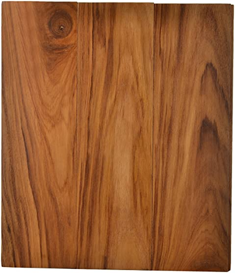 ARS Home Fittings Wood (TANZANIA TEAK WOODEN FLOORING,BrownColour)