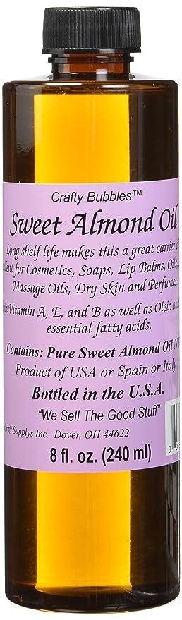 Boleks Crafty Bubbles Sweet Almond Oil, ...
