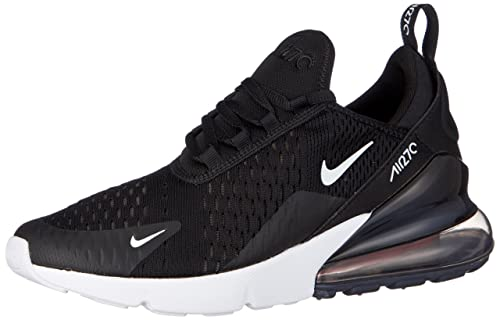 on sale 36c57 0353f Nike Air Max 270 (GS) Scarpe Running Bambino, Nero (Black White