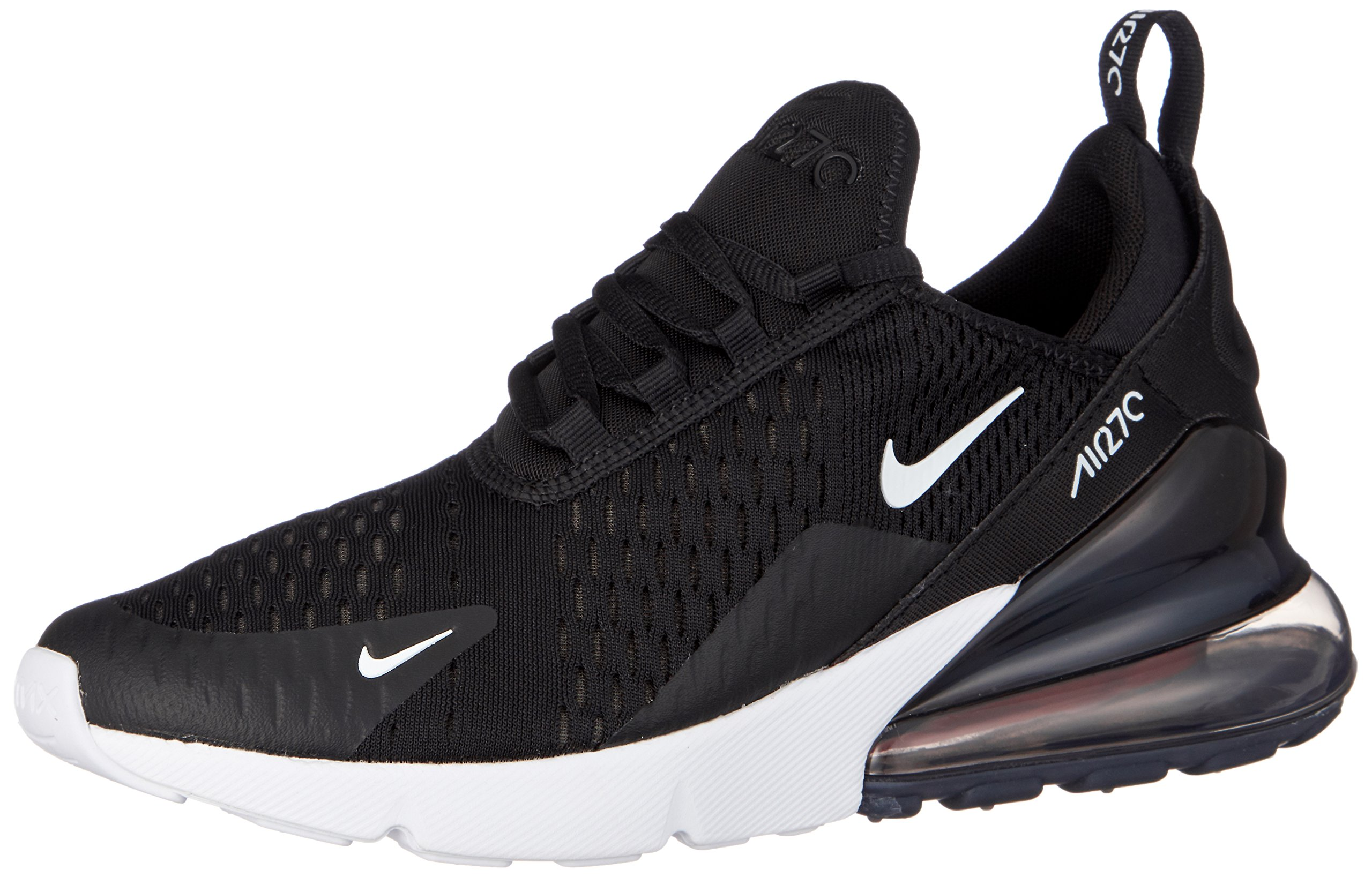 6fac336067 Nike Kids' Grade School Air Max 270 Shoes (3.5, Black/White/Anthracite) |  Art Yoga Studio