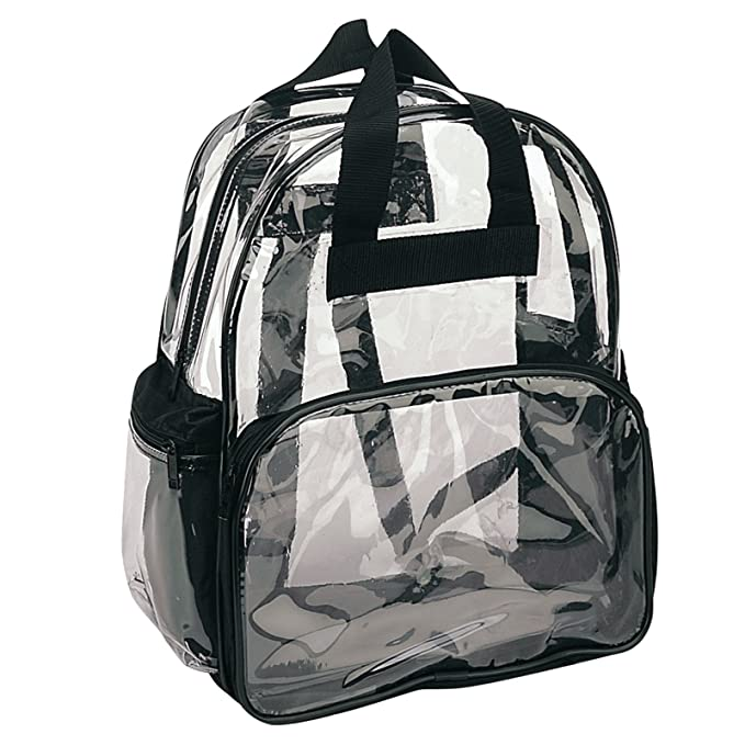 Amazon.com | ProEquip Travel Bag Clear Unisex Transparent School Security Backpack (Clear) | Kids Backpacks