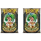 FoxFarm FX14100 Bush Doctor Coco Loco Plant Garden Potting Soil Mix, 2 Cubic Ft. (2 Pack)