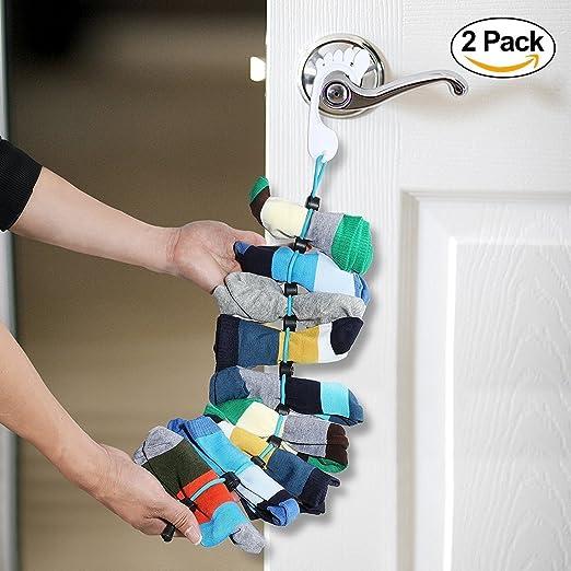 Organizador de calcetines, fácil de sujetar y bloquear calcetines ...