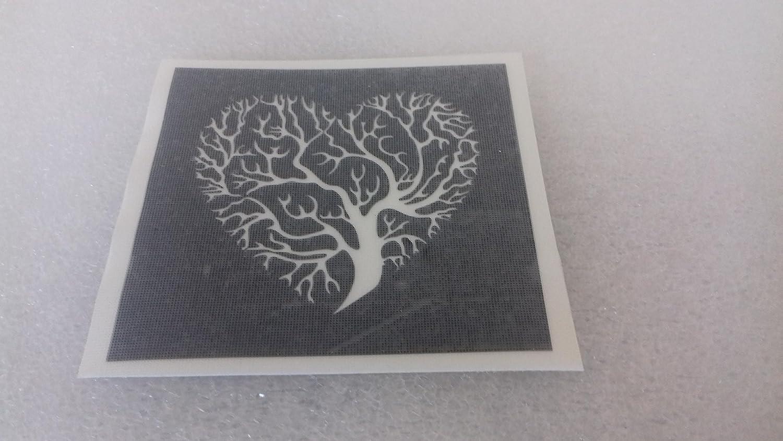 Dazzle Glitter Tattoos 25 x árbol de Vida Plantillas para Grabado ...