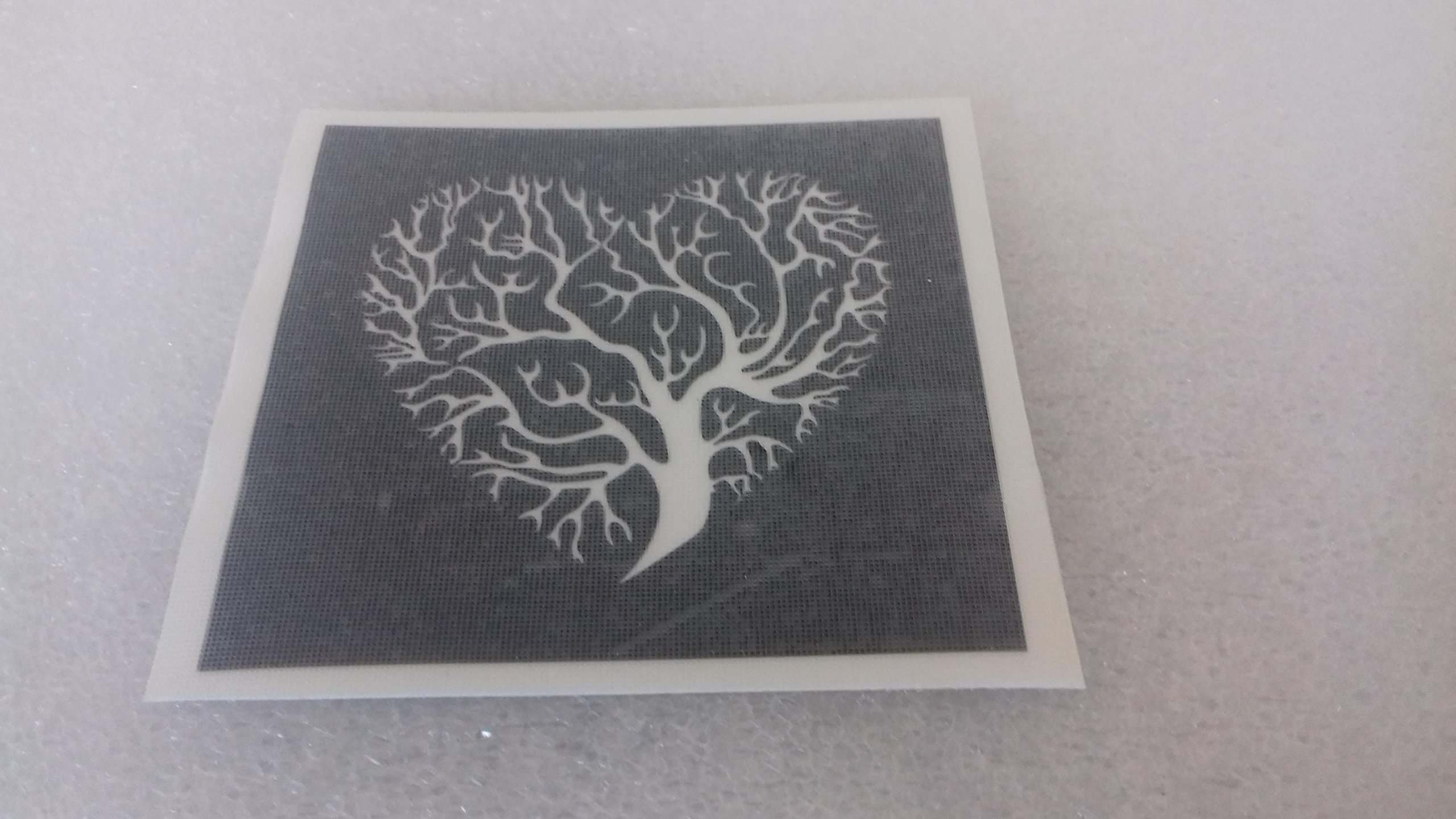 25 x tree of life stencils for etching on glass gift present glassware hobby craft