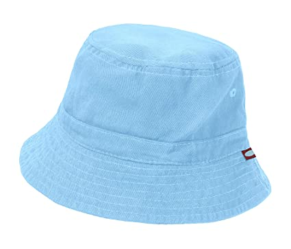 ec6bfe2f963 City Threads Unisex Baby Solid Wharf Hat Bucket Hat for Sun Protection SPF  Beach Summer -