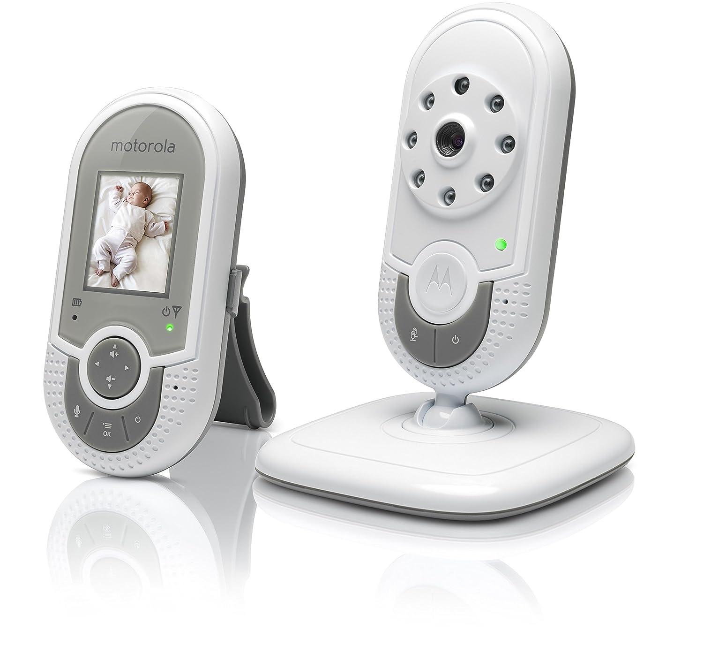 Vigilabeb/és v/ídeo con pantalla a color de 1.8 color blanco Motorola MBP621