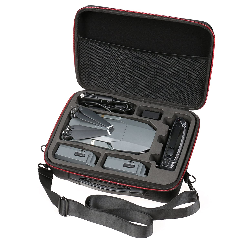 RC GearPro Waterproof Hard Shell Carry Case Compatible DJI Mavic 2 Zoom//Pro Drone Fly More Combo
