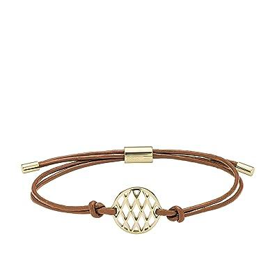 Fossil Women's Grey Bracelet JA6534791 AgSIM0
