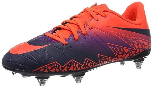 Nike Hypervenom Phelon Ii Sg Scarpe da Calcio Uomo Multicolore Total Crimson/