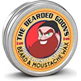 The Bearded Goon's Ridiculously Strong Beard and Handlebar Mustache Wax - 1oz (30ml) by The Bearded Goon