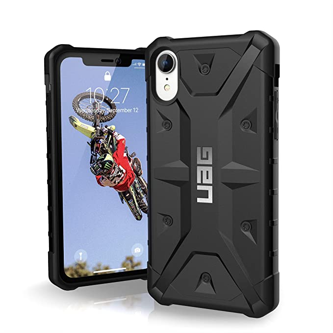 Urban Armour Gear UAG iPhone XR Pathfinder [6.5-inch Screen] Plasma Feather-Light Rugged  Military Drop Tested iPhone Case